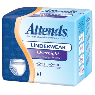 Attends Overnight Underwear