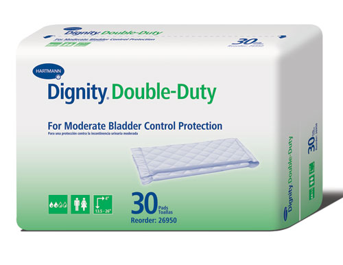 Dignity Double Duty Pads