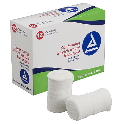 Stretch Gauze Bandages Non Sterile
