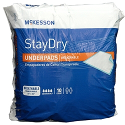 Stay Dry Ultra Absorbency Underpads