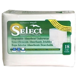 Select Disposable Underwear