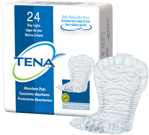Tena Day Light Pad 24/pk