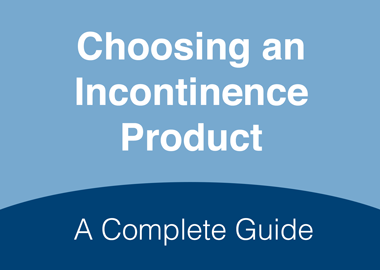 Choosing an Incontinence Product