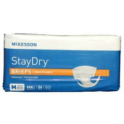 Stay Dry Breathable Briefs Medium